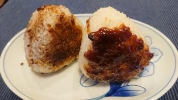 しょうゆ麹と熟成味噌の焼きおにぎり